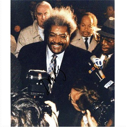 Don King Autographed Boxing 8x10 Photo