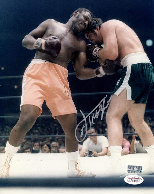 Joe Frazier Autographed Boxing 8x10 Photo - JSA