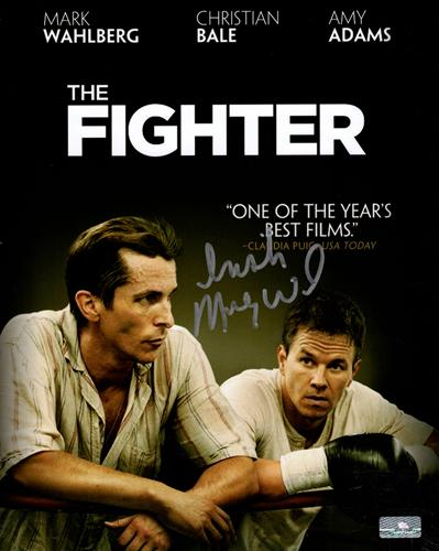 Micky Ward Autographed Boxing (The Fighter Movie) 8x10 Photo