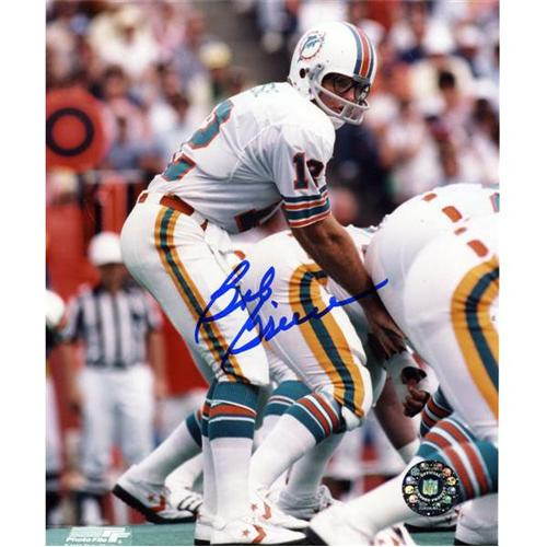Bob Griese Autographed Miami Dolphins 8x10 Photo