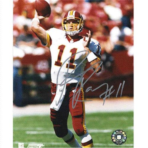 Patrick Ramsey Autographed Washington Redskins (Ball in Hand) 8x10 Photo