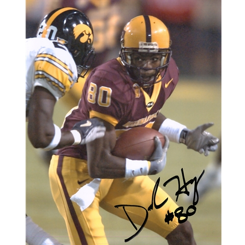Derek Hagan Autographed Arizona State Sun Devils 8x10 Photo
