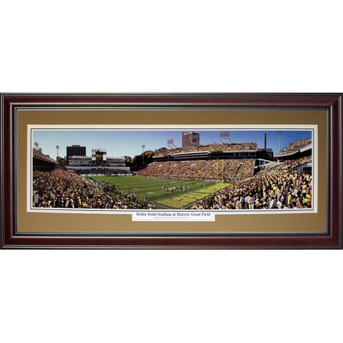 Georgia Tech Yellow Jackets (Bobby Dodd Stadium at Historic Grant Field) Deluxe Framed Panoramic Photo