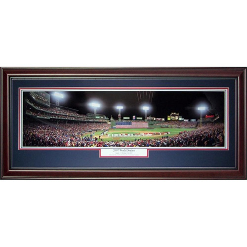 Boston Red Sox (2007 World Series) Deluxe Framed Panoramic Photo