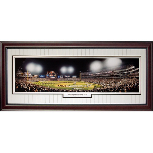 Chicago White Sox (Opening Ceremonies 2005 – World Series) Deluxe Framed Panoramic Photo