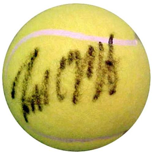 Todd Martin Autographed Tennis Ball