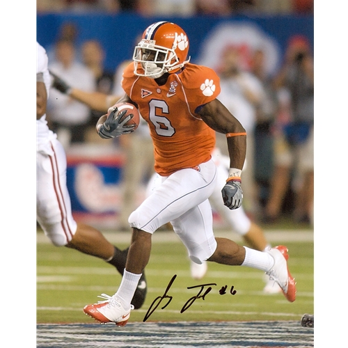 Jacoby Ford Autographed Clemson Tigers (ChickFilA Bowl) 8x10 Photo