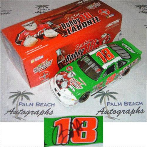 Bobby Labonte Autographed Interstate Batteries #18 (Action) 1/24 Diecast Car