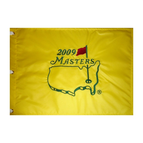 2009 Masters Embroidered Golf Pin Flag - Angel Cabrera Champion