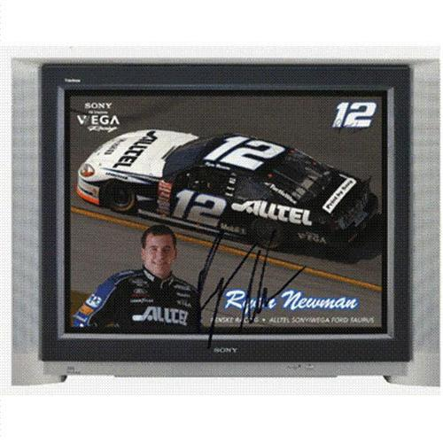 Ryan Newman Autographed Alltel 8.5×11 Promo
