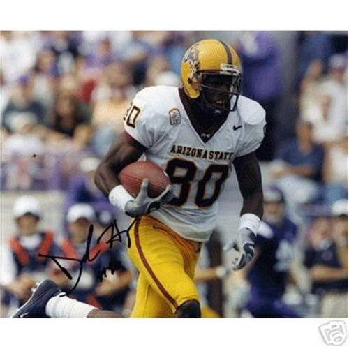 Derek Hagan Autographed Arizona State Sun Devils (Horiz) 8x10 Photo