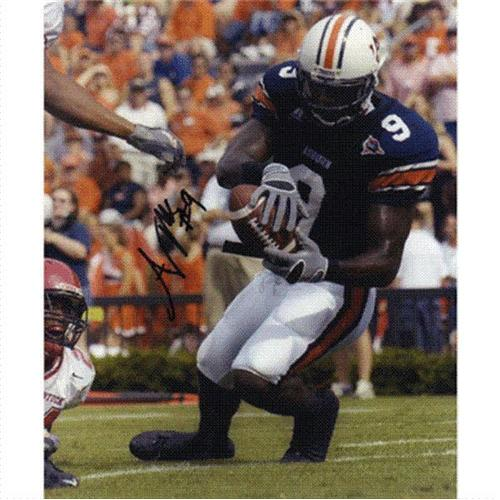 Anthony Mix Autographed Auburn Tigers 8x10 Photo