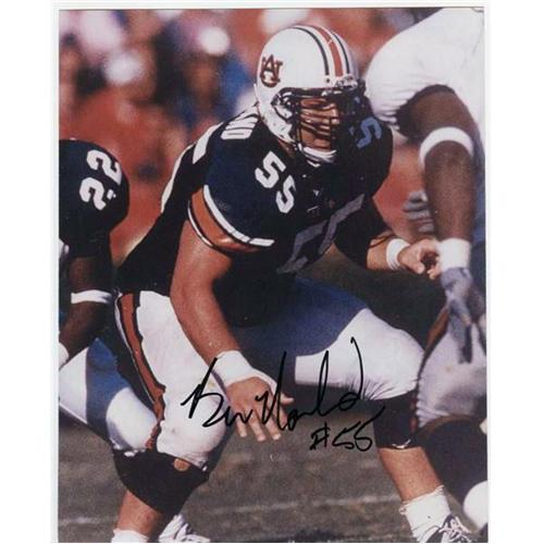 Ben Nowland Autographed Auburn Tigers 8x10 Photo