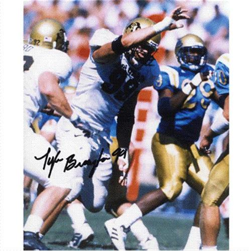 Tyler Brayton Autographed Colorado Buffaloes 8x10 Photo