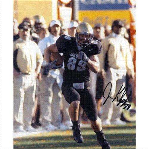 Joe Klopfenstein Autographed Colorado Buffaloes 8x10 Photo