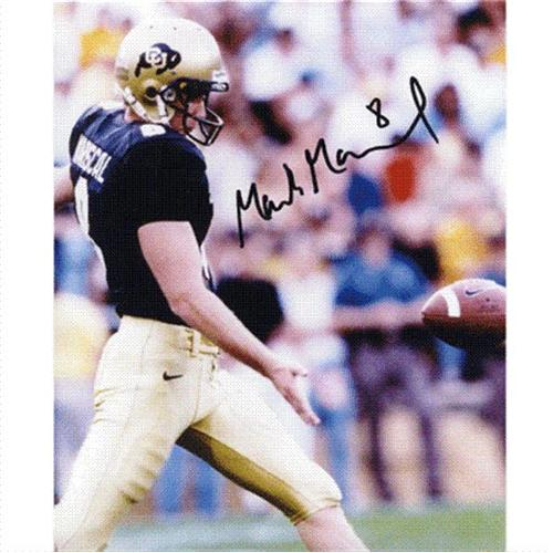 Mark Mariscal Autographed Colorado Buffaloes 8x10 Photo