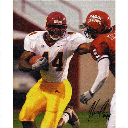 Thomas Tapeh Autographed Minnesota Golden Gophers 8x10 Photo