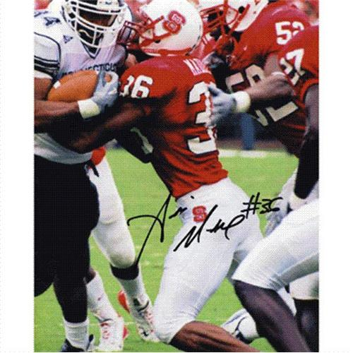 Andre Maddox Autographed North Carolina NC State Wolfpack 8x10 Photo