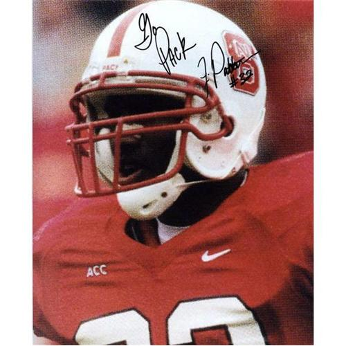 Julius Patterson Autographed North Carolina NC State Wolfpack 8x10 Photo