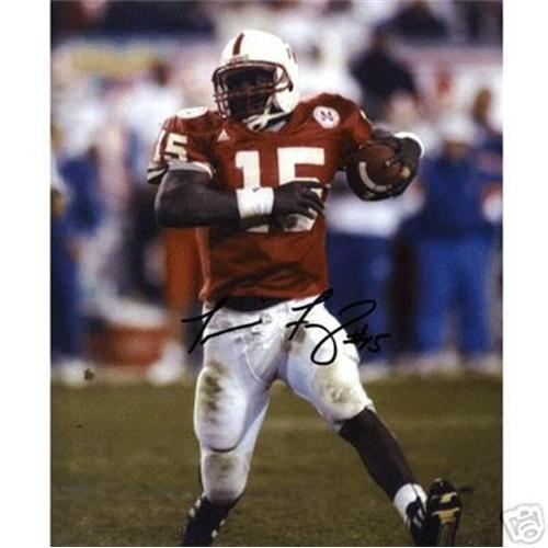 Tommie Frazier Autographed Nebraska Huskers (Red Jersey) 8x10 Photo