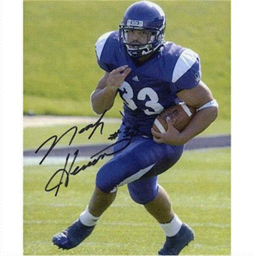 Noah Herron Autographed Northwestern Wildcats 8x10 Photo