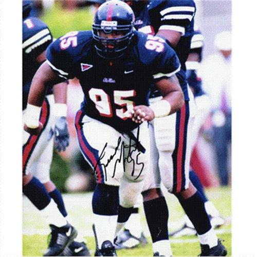 Jesse Mitchell Autographed Ole Miss Rebels 8x10 Photo