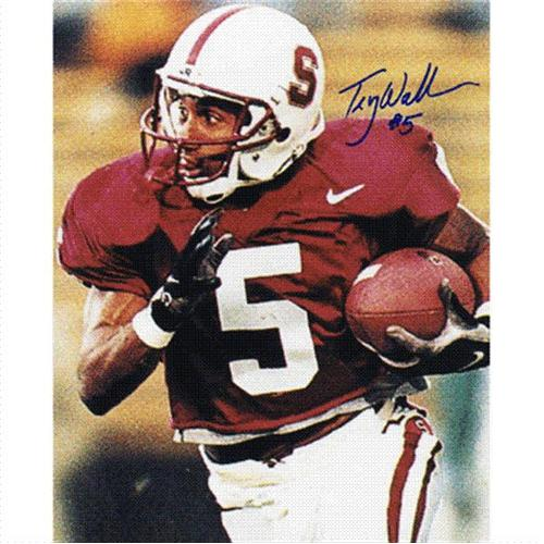 Troy Walters Autographed Stanford Cardinal 8x10 Photo