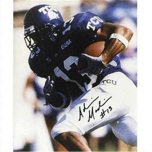 Adrian Madise Autographed Texas Christian TCU Horned Frogs 8x10 Photo