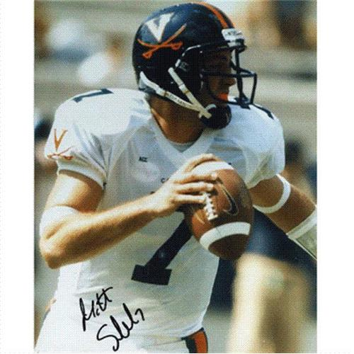 Matt Schaub Autographed Virginia Cavaliers 8x10 Photo