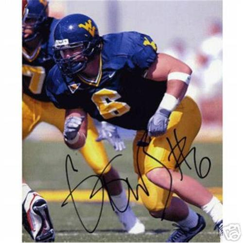 Grant Wiley Autographed West Virginia Mountaineers 8×10 Photo