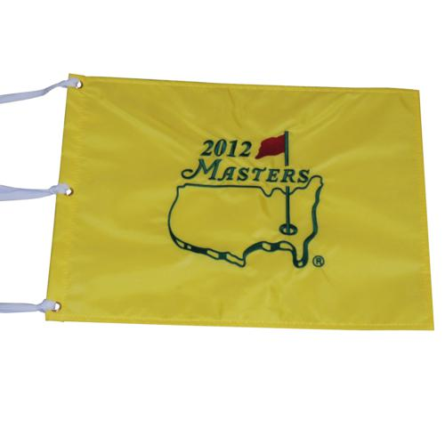 2012 Masters Embroidered Golf Pin Flag - Bubba Watson Champion