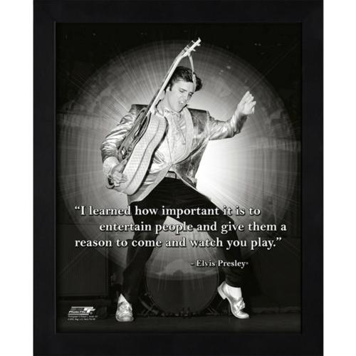 "Elvis Presley Framed 11x14 ""Pro Quote"" #2"