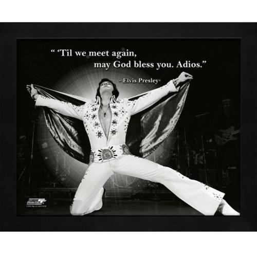 "Elvis Presley Framed 11x14 ""Pro Quote"" #5"