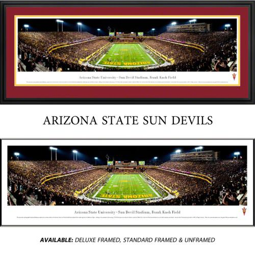 Arizona State University Framed Stadium Panoramic