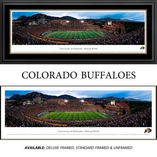 University of Colorado Buffaloes Framed Stadium Panoramic