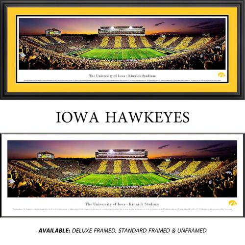 University of Iowa Hawkeyes (Spirit Week) Framed Stadium Panoramic