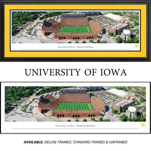 University of Iowa Hawkeyes Framed Stadium Panoramic