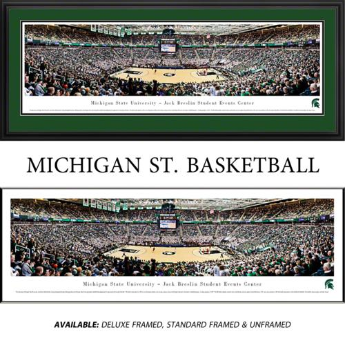 Michigan State University Spartans (Basketball) Framed Stadium Panoramic