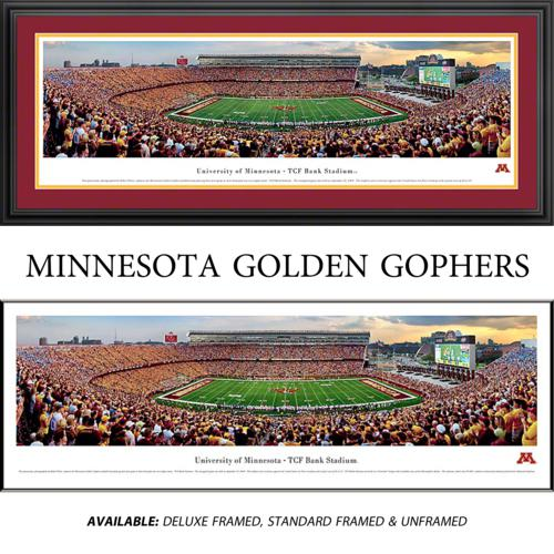 University of Minnesota Golden Gophers Framed Stadium Panoramic