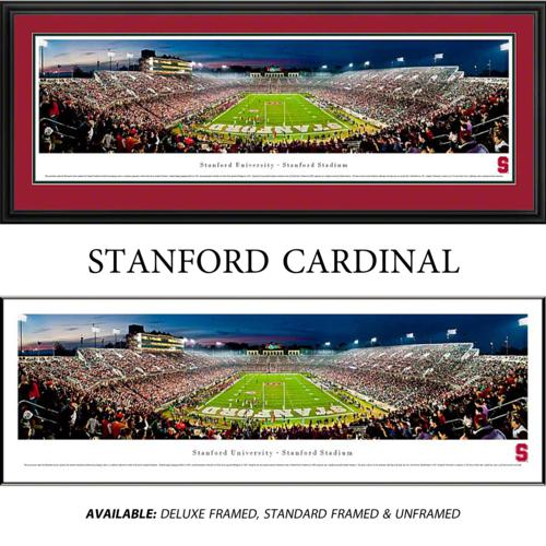 Stanford University Cardinal Framed Stadium Panoramic
