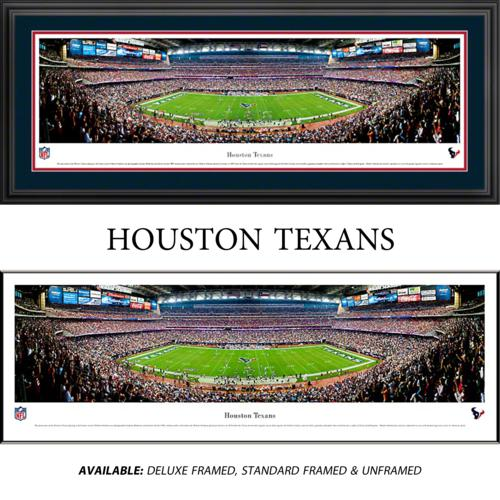 Houston Texans Framed Stadium Panoramic