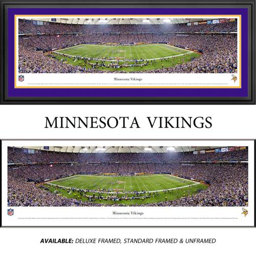 Minnesota Vikings Framed Stadium Panoramic