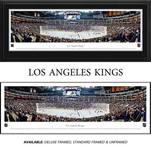 Los Angeles Kings Framed Stadium Panoramic