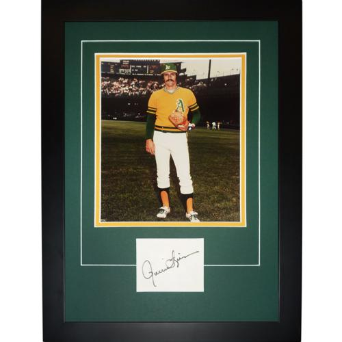 "Rollie Fingers Autographed Oakland A's ""Signature Series"" Frame"