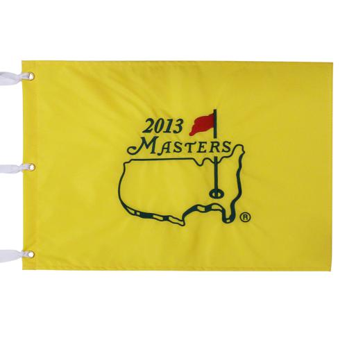 2013 Masters Embroidered Golf Pin Flag - Adam Scott Champion