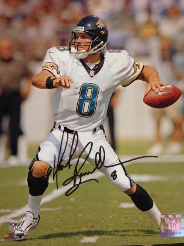 Mark Brunell Autographed Jacksonville Jaguars (White Jersey) 8x10 Photo