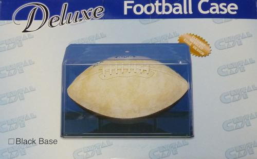 ProTech Football Economy Display Case w/ Nameplate