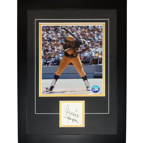 """Willie Stargell Autographed Pittsburgh Pirates """"Signature Series"""" Frame"""