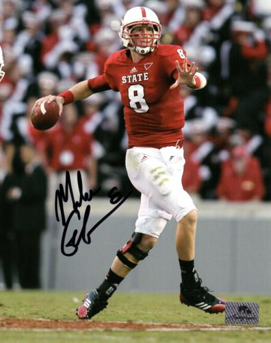 Mike Glennon Autographed NC State Wolfpack 8x10 Photo