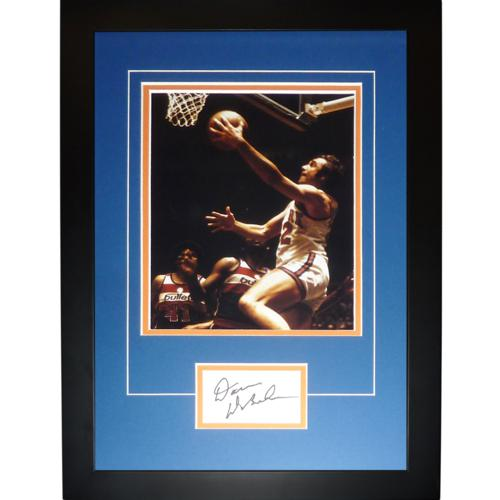 "Dave DeBusschere Autographed New York Knicks ""Signature Series"" Frame"
